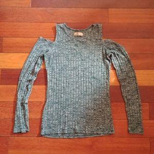 Hollister cold shoulder sweater NWOT